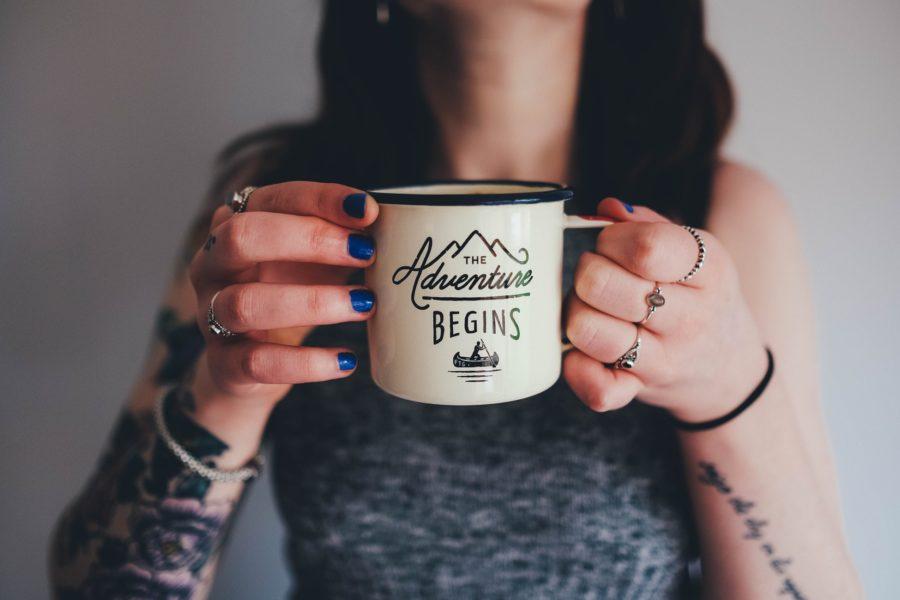 コーヒーと女性