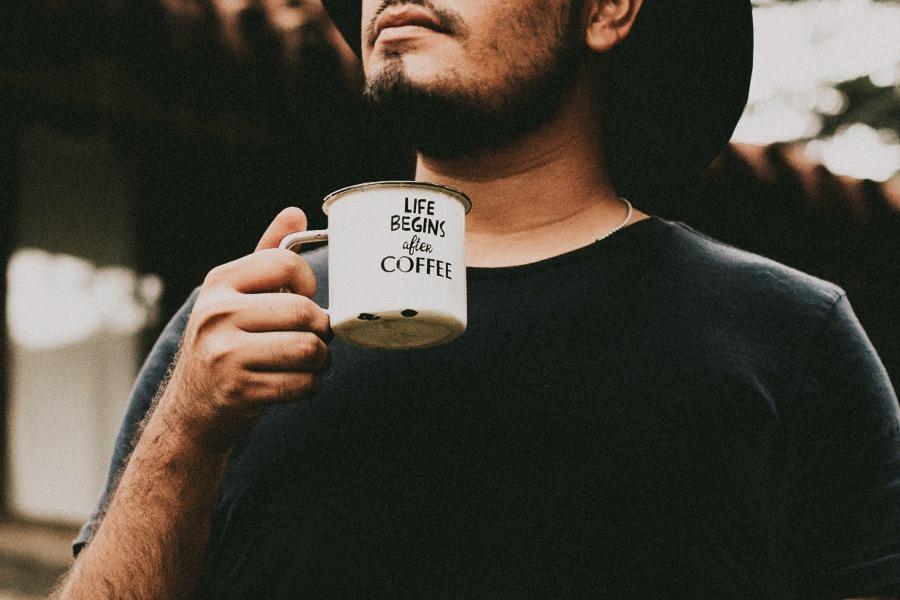 お父さんとコーヒー