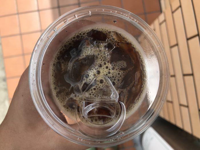 セブンイレブンのアイスコーヒーがストローなし